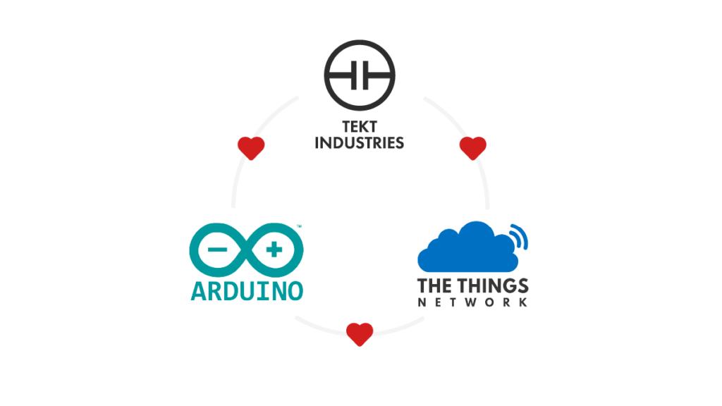 Tekt loves Arduino loves The Things Network